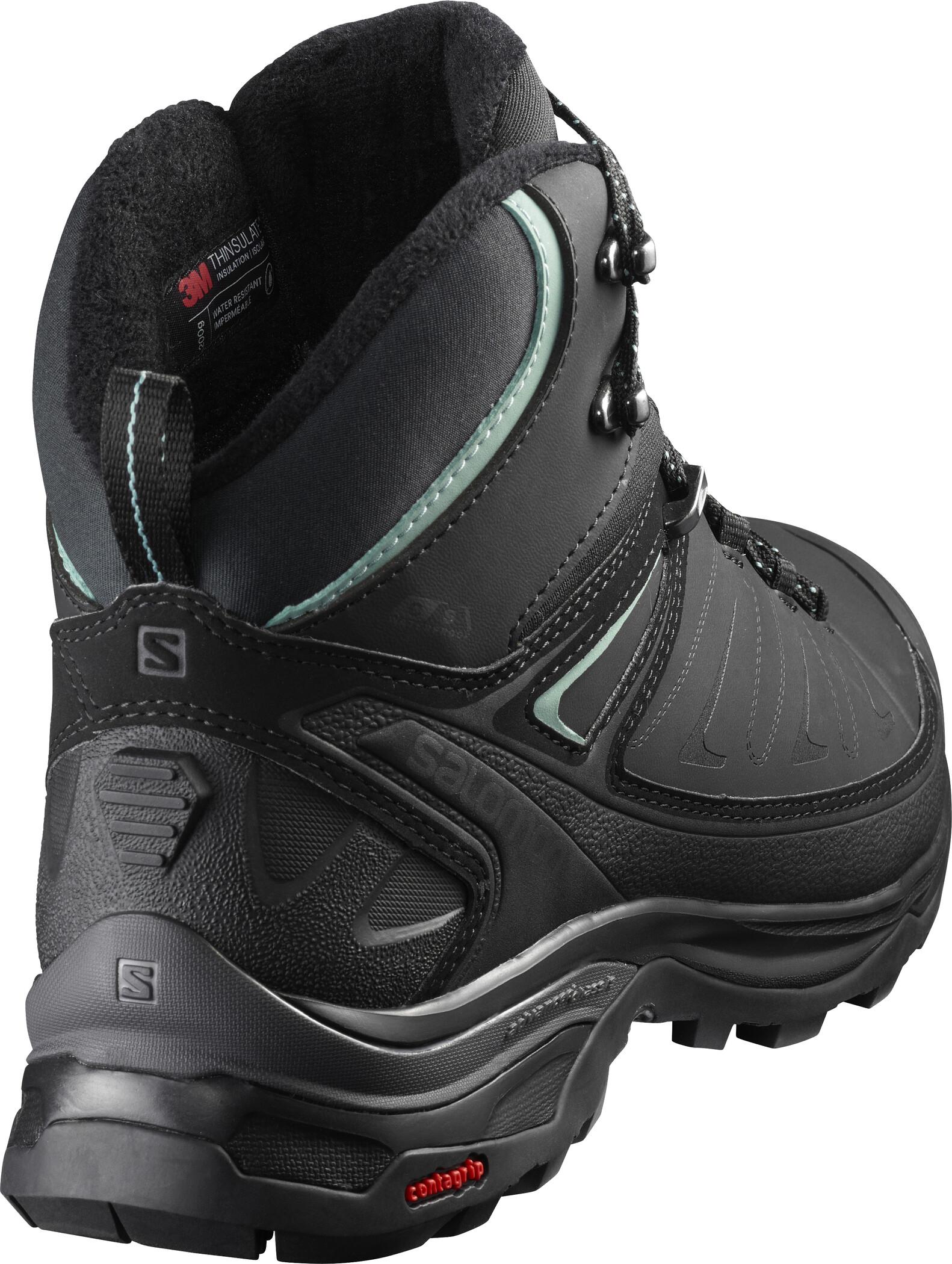 Salomon X Ultra Mid Winter CS WP Shoes Dam blackphantomtrellis