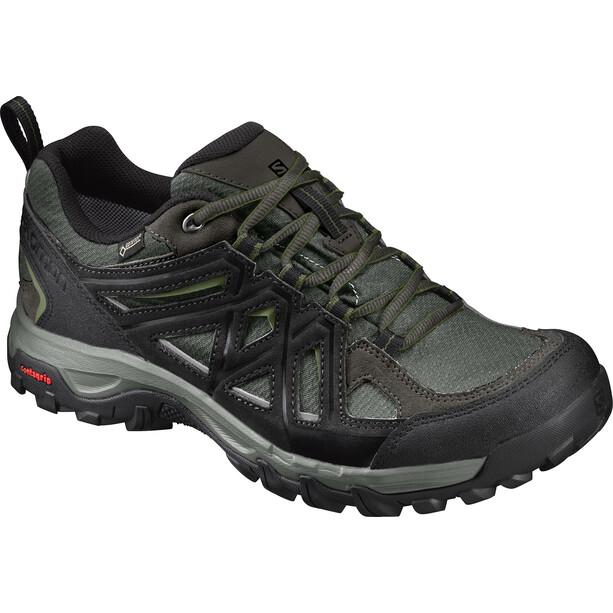 Salomon Evasion 2 GTX Schuhe Herren castor gray/black/chive