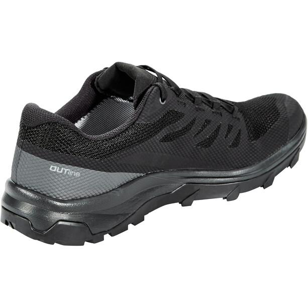 Salomon OUTline GTX Chaussures Homme, black/phantom/magnet