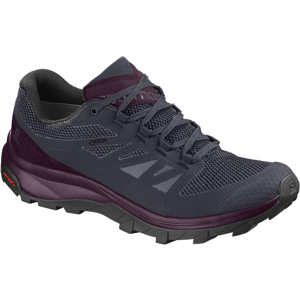 Salomon Outline GTX Schuhe Damen graphite/potent purple/potent purple