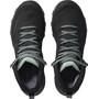 Salomon Outline Mid GTX Chaussures Femme, black/magnet/green milieu