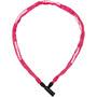 Trelock BC 115 Kettenschloss 110 cm pink