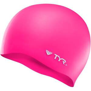 TYR Silicone Cap No Wrinkle flou pink flou pink