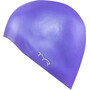 TYR Silicone Cap No Wrinkle purple
