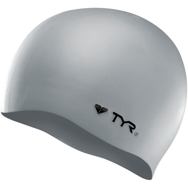 TYR Silicone Casquette No Wrinkle, silver