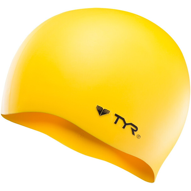 TYR Silicone Cap No Wrinkle yellow