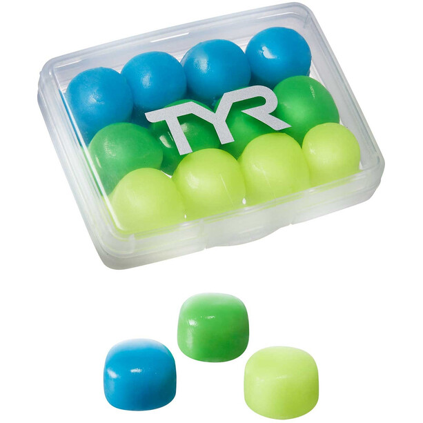 TYR Soft Silicone Earplugs Kinder assorted