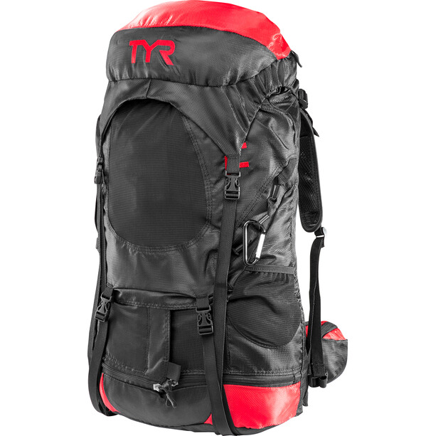 TYR Elite Transition Rucksack black/red