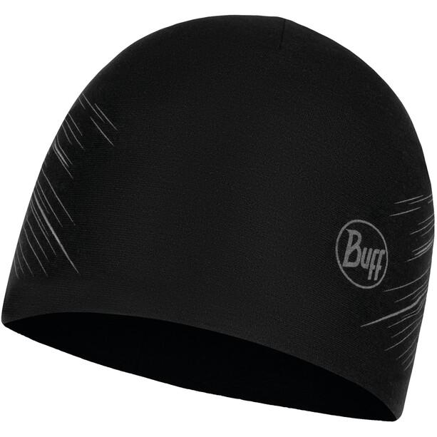 Buff Microfiber Wendemütze reflective-solid black