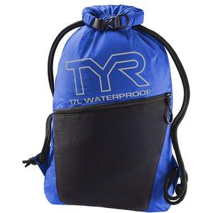 TYR Alliance Waterproof Sackpack svart/blå svart/blå