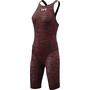 TYR Thresher Baja Open Back Swimsuit Dame red