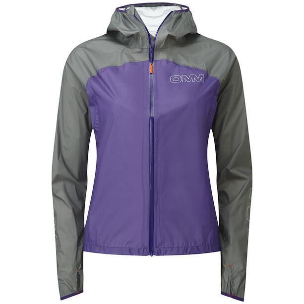 OMM Halo Jacket Dam violett/grå