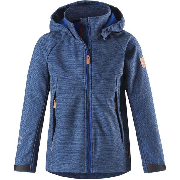 Reima Milot Softshell Jacket Barn denim blue