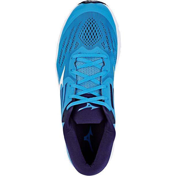 Mizuno Wave Stream 2 Chaussures Homme, bleu/blanc