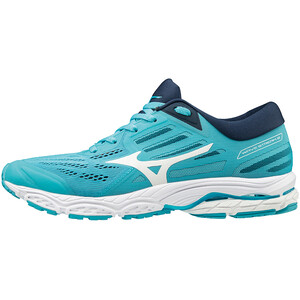 Mizuno Wave Stream 2 Schuhe Damen blue atoll/white/dress blues blue atoll/white/dress blues