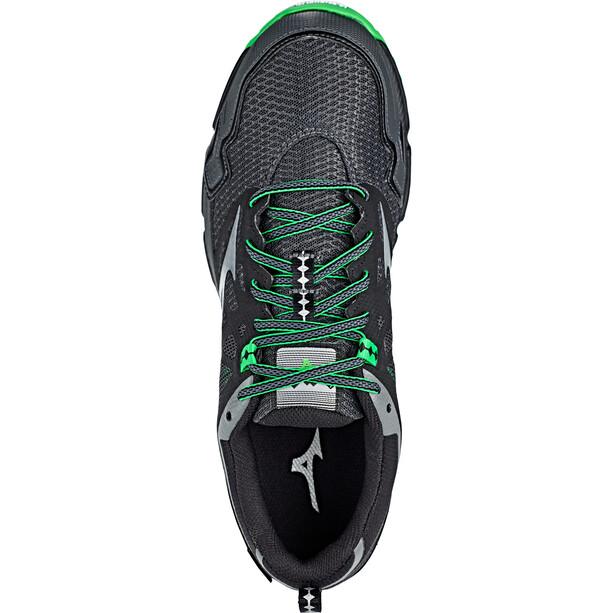 Mizuno Wave Daichi 4 GTX Schuhe Herren dark shadow/quiet shade/poison green