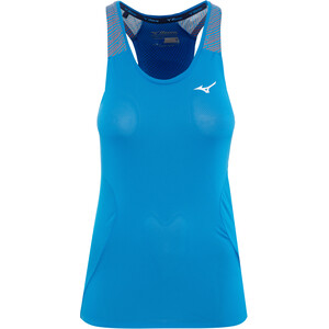 Mizuno Aero Tank Top Damen brilliant blue brilliant blue