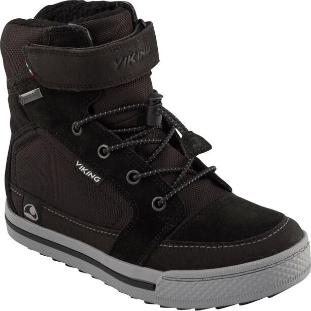 Viking Footwear Zing GTX Kengät Lapset, black/grey