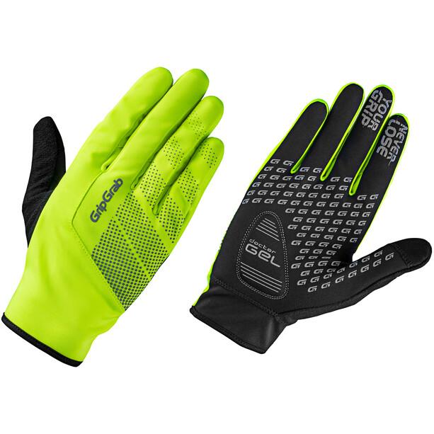 GripGrab Ride Hi-Vis Windproof Midseason Handschuhe fluo yellow