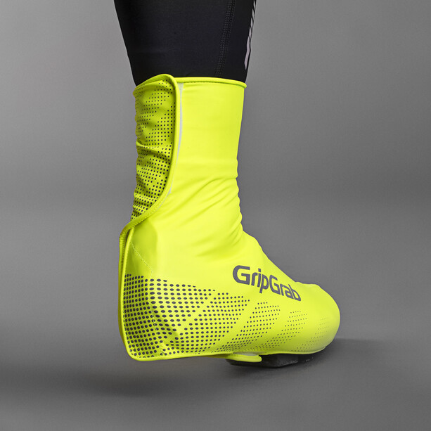 GripGrab Ride Waterproof Hi-Vis Überschuhe fluo yellow