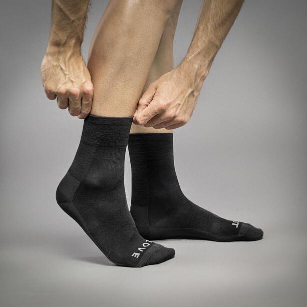 GripGrab Merino Lightweight SL Socken black