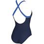 arena Leda Embrace Back One Piece Badeanzug Damen navy-bright blue