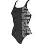 arena Equilibrium Swim Pro One Piece Badeanzug Damen black-white