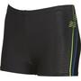 arena Roy Shorts Jungen black-shiny green