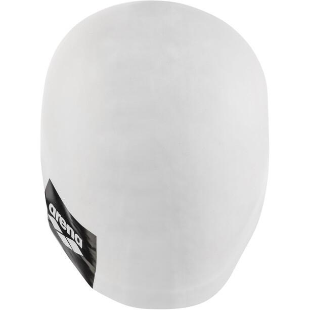 arena Logo Moulded Schwimmkappe white