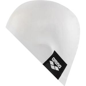 arena Logo Moulded Schwimmkappe white white