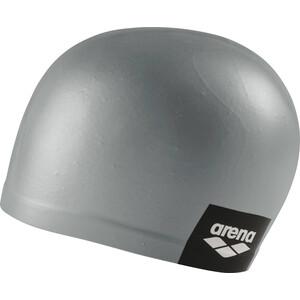 arena Logo Moulded Schwimmkappe grau grau