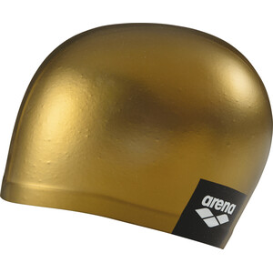 arena Logo Moulded Schwimmkappe gold gold