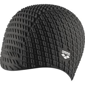 arena Bonnet Silicone Schwimmkappe black black
