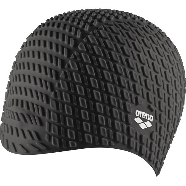 arena Bonnet Silicone Swimming Cap black