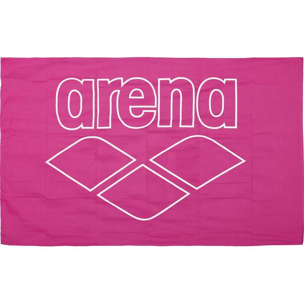 arena Pool Smart Handtuch fresia rose-white