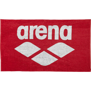 arena Pool Soft Handtuch red-white red-white