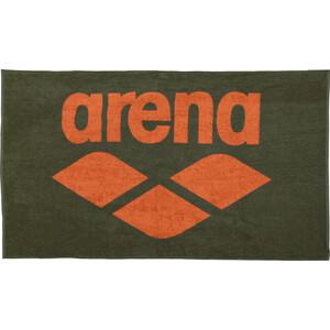 arena Pool Soft Serviette pour chien, vert/orange vert/orange