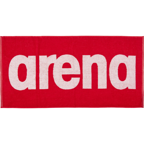 arena Gym Soft Handtuch red-white