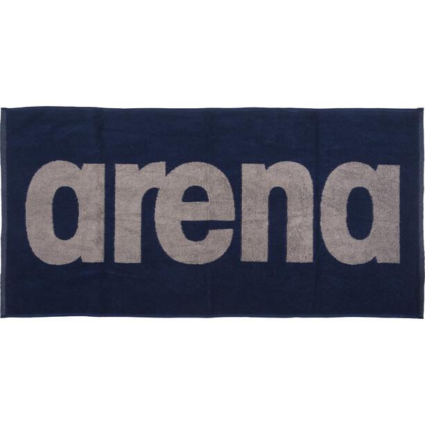 arena Gym Soft Handtuch navy-grey