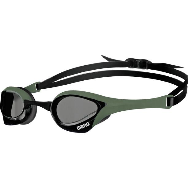 arena Cobra Ultra Goggles smoke-army-black