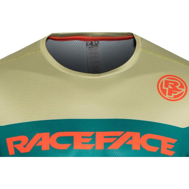 Race Face Indy Kurzarm Trikot Herren dark spruce