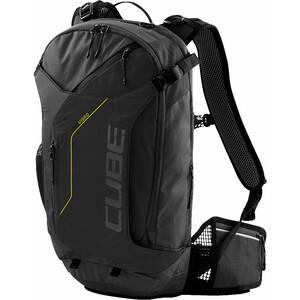 Cube Edge Hybrid Rucksack black'n'lime black'n'lime