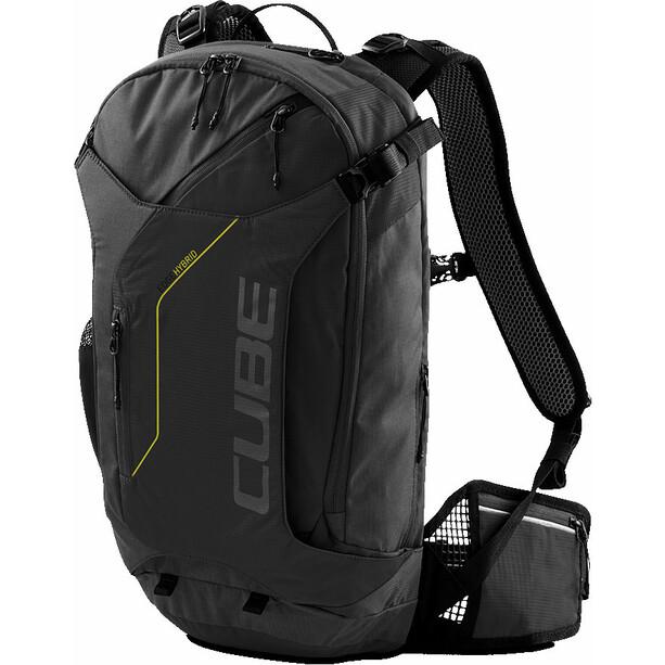 Cube Edge Hybrid Rucksack black'n'lime