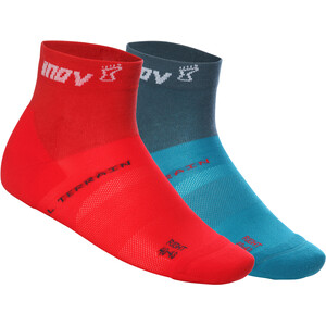inov-8 All Terrain Mid-Cut Socken Herren green/red green/red
