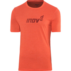 inov-8 Tri Blend Division Kurzarm T-Shirt Herren red red