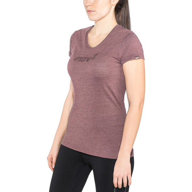 inov-8 Tri Blend Division Kurzarm T-Shirt Damen purple