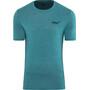 inov-8 Tri Blend Forged Kurzarm T-Shirt Herren blue/green