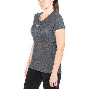 inov-8 Tri Blend Obsessed Kurzarm T-Shirt Damen black black