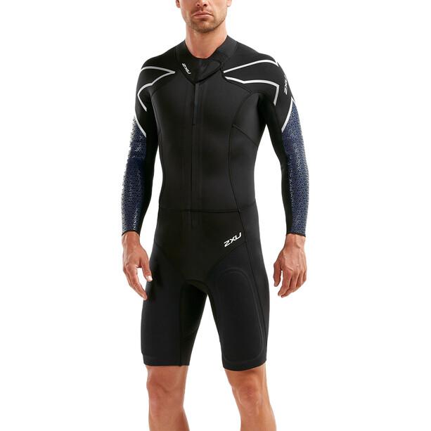 2XU SR:Pro-Swim Run SR1 Wetsuit Herr Black/Blue Surf