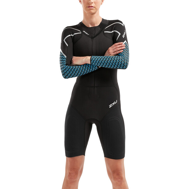 2XU SR:Pro-Swim Run SR1 Wetsuit Dam Black/Aquarius